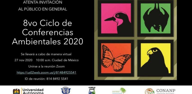 Invita UAdeC al Octavo Ciclo de Conferencias Ambientales 2020