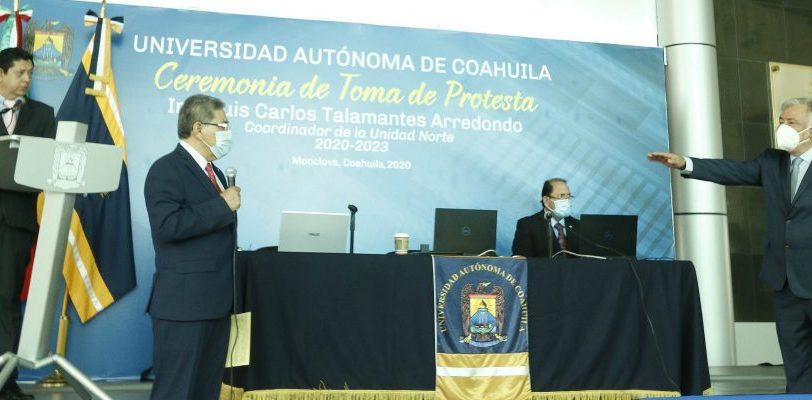 Toma protesta Luis Carlos Talamantes Arredondo como Coordinador de la Unidad Norte