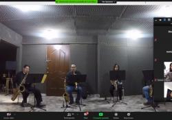 Banda de Música de Coahuila, presente vía zoom en planteles escolares