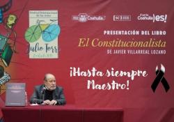 Anuncia Cultura Coahuila homenaje virtual al historiador Javier Villareal Lozano