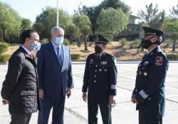 Toma protesta nuevo Comandante de la Sexta Zona Militar en Coahuila