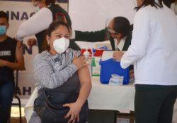Concluye Coahuila primer etapa de vacunación covid en la región centro-desierto