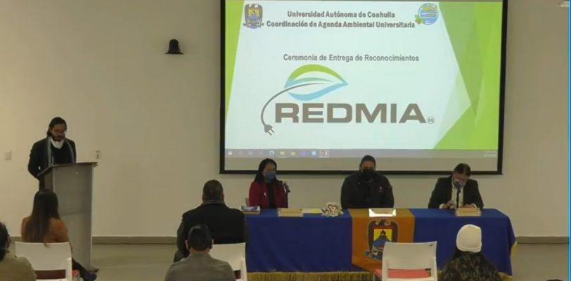 Por desempeño destacado dentro del Proyecto REDMIA, reciben reconocimientos alumnos y docentes de la UAdeC