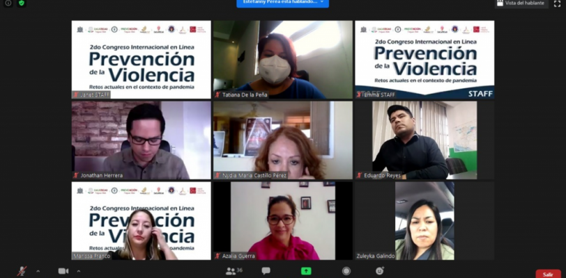 Expone Coahuila investigaciones en prevención social de la violencia