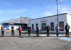 Inaugura Miguel Riquelme nueva Central Camionera en el Pueblo Mágico de Cuatro Ciénegas