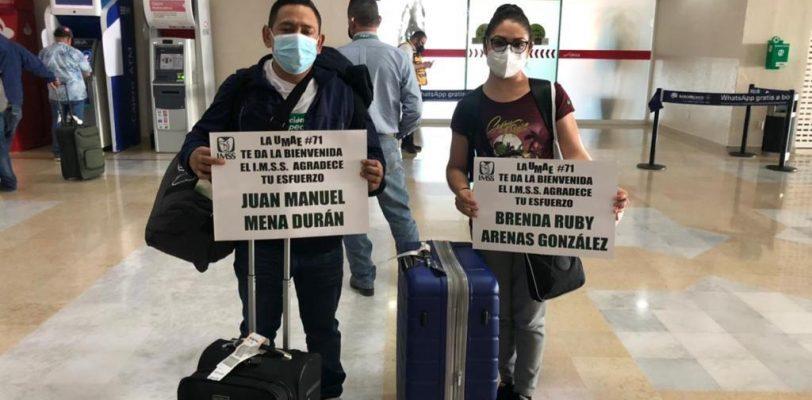 Regresan a Coahuila seis integrantes de brigada Covid de operación Chapultepec