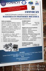 Estudia la Maestría en Ingeniería Mecánica que ofrece la UAdeC