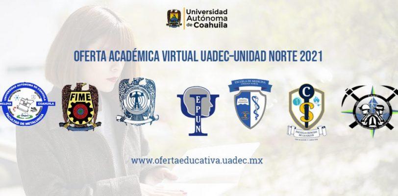 Promueve Unidad Norte de la UAdeC de manera virtual su oferta académica