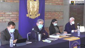 """Presenta rector de la UAdeC su Libro """"De Ciencia, Educación y Algo Más"""" y conmemora CIJE Primer Aniversario"""