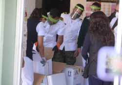 Recibe IMSS Coahuila segundo cargamento de vacunas contra Covid-19