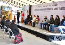 Entrega e inicia Miguel Riquelme obras en la Región Carbonífera, con una inversión de más de 23 mdp