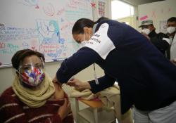 Llegan 1 mil 592 vacunas más contra Covid a la Laguna; empieza aplicación en Hospital General de Torreón, ISSSTE y Clínicas del IMSS