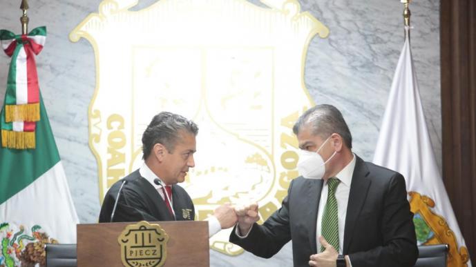 Coahuila impulsa nuevo orden jurídico donde prevalece la dignidad humana: Miguel Riquelme