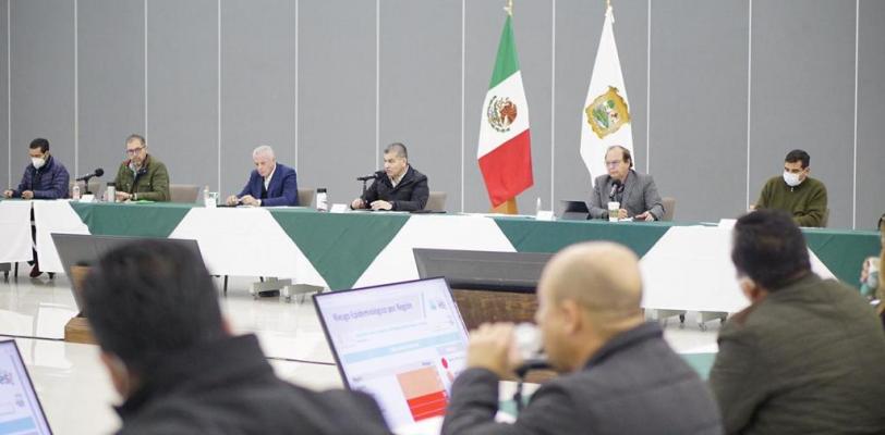 Llegan a Coahuila 14 mil 625 vacunas más, anuncia Miguel Riquelme