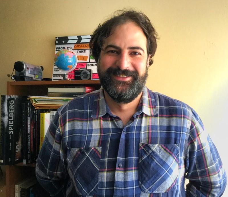 Iker Compeán Leroux, Encargado del Taller de Guión de Cortometraje de Ficción de Cultura Coahuila
