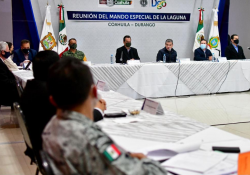 Encabezan Gobernadores de Coahuila y Durango Reunión de Mando Especial de La Laguna