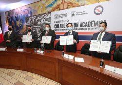 Firma UAdeC convenio de colaboración académica con el Colegio Nacional del Notariado Mexicano