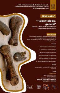 """Aprende con el Seminario """"Paleontología General"""""""