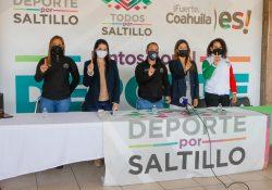 Saltillo se suma a la campaña Un Billón de Pie México 2021