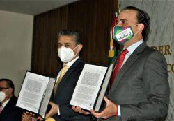 Poder Judicial de Coahuila firma convenio con el Municipio de Saltillo