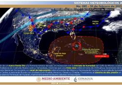Se aproxima frío a Coahuila