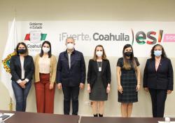 Presenta Coahuila a Diputados Locales, programas y acciones a favor de la juventud