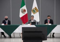 Reconoce Miguel Riquelme a Subcomité por baja en ocupación hospitalaria en La Laguna