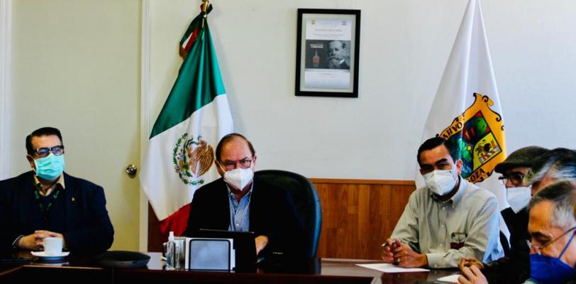 Evalúa Salud Coahuila puntos destinados a la aplicación de vacuna anti-covid