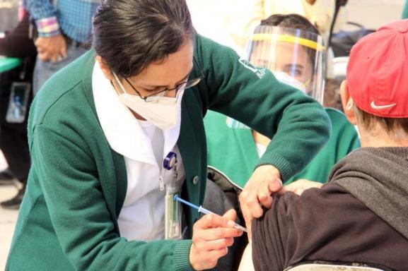 Reporte Coahuila del avance de vacunación