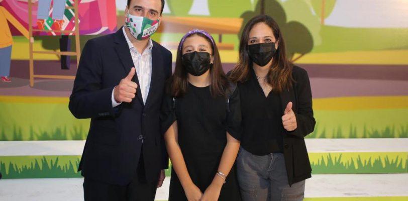 Niñas, niños y adolescentes son el presente y el futuro de México: Manolo