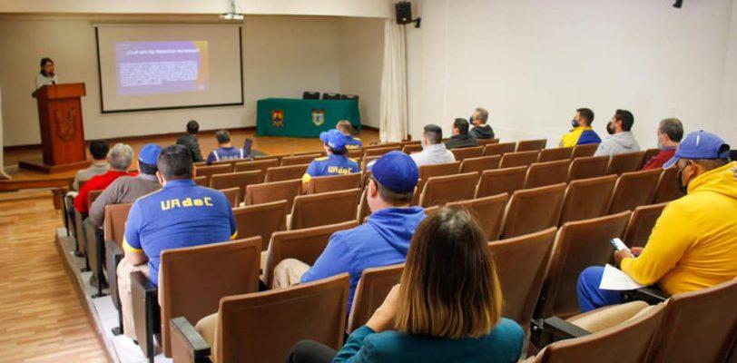 """Inicia el Programa de Capacitación para Entrenadores Deportivos de la UAdeC """"Derechos Humanos y Deporte: Construyendo Espacios de Paz"""""""