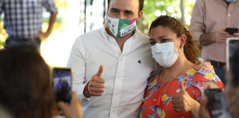 En Saltillo decide la ciudadanía: Manolo Jiménez