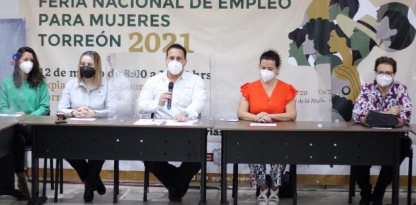 Invita Coahuila a la Feria Nacional de Empleo para mujeres en el municipio de Torreón