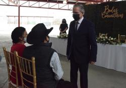 Con estricto protocolo Covid, reanuda Coahuila celebración de matrimonios comunitarios