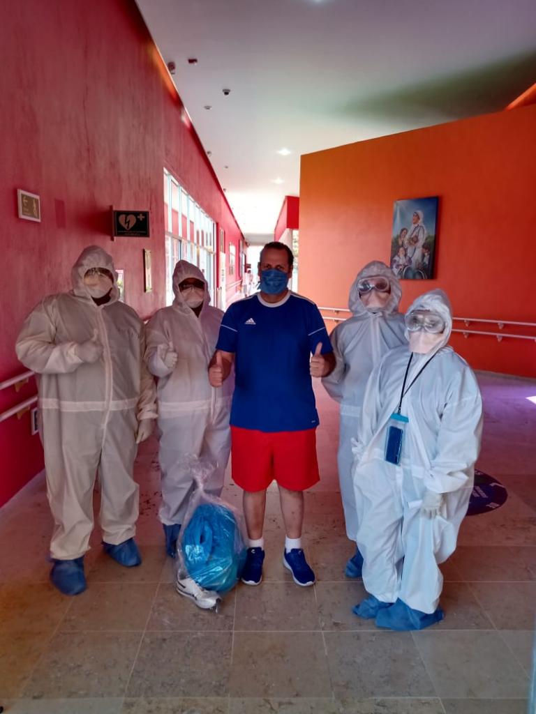 Agradece Centro de Recuperación Covid Coahuila al pequeños del CRIT por 'préstamo' de sus instalaciones