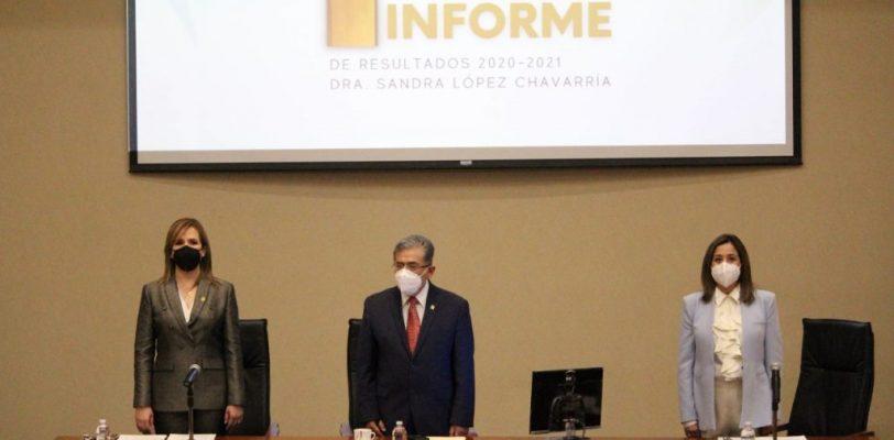 Presenta coordinadora de la Unidad Torreón primer informe de actividades