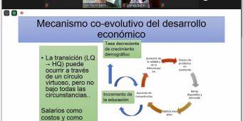 Comparte catedrático italiano con la comunidad universitaria de la UAdeC la Innovación, Complejidad y Evolución Económica