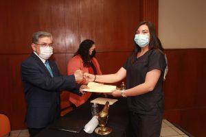 Reconocen a estudiantes y docentes de la Facultad de Enfermería por participar como voluntarios durante la Vacunación Contra el Covid-19