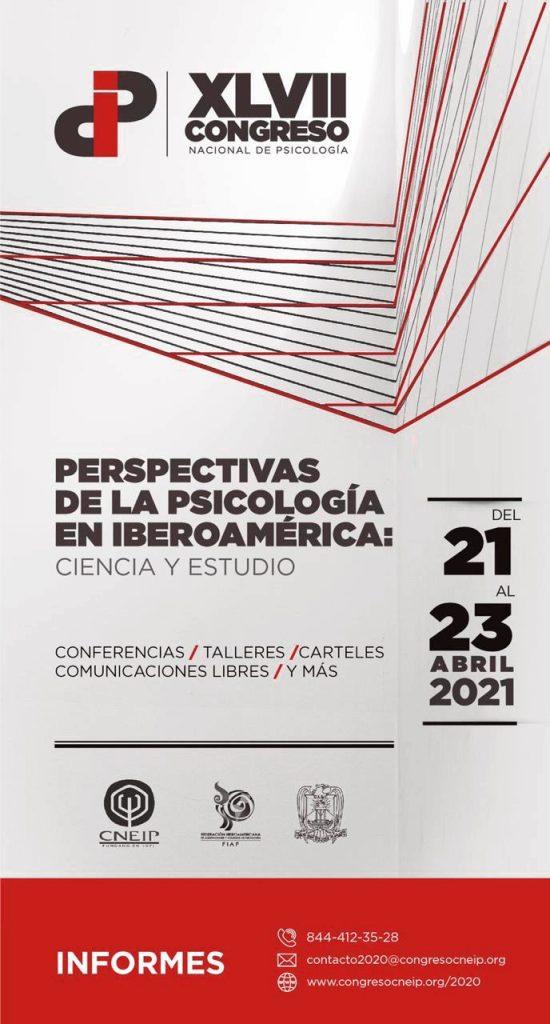 Este miércoles inicia el XLVII Congreso Nacional y el 12 Iberoamericano de Psicología