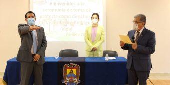 Rector toma protesta a directores en gira de trabajo por la Unidad Torreón