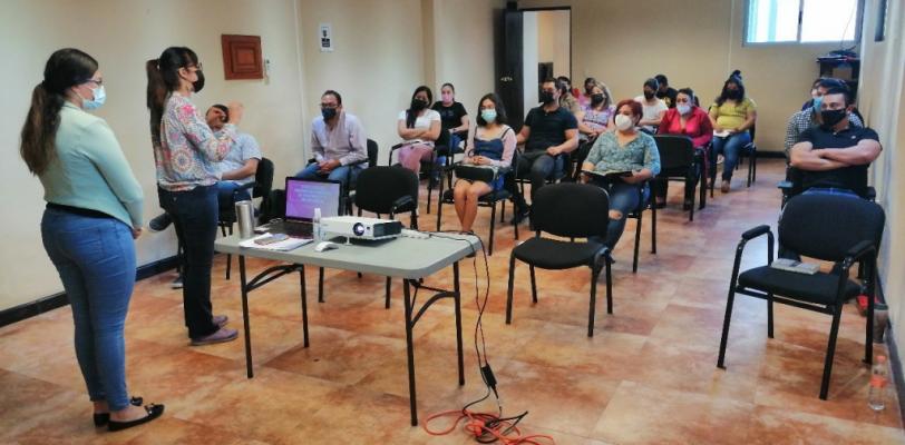 Recibe personal de Prevención Social, capacitación sobre procesos de comunicación
