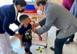 Arranca Coahuila campaña de vacunación contra el Sarampión y Rubéola