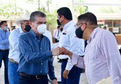Inicia MARS gira de supervisión de espacios educativos en Coahuila