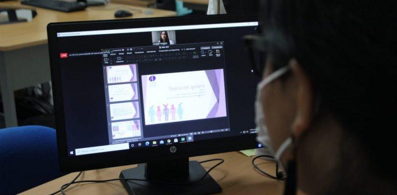 Arrancan conversatorios del ICAI con taller  de Prevención de Violencia de Género