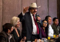 Anuncia el candidato de MORENA, Armando Guadiana, que donará el sueldo de alcalde
