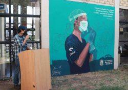 En honor a las y los enfermeros develan mural en la Facultad de Enfermería de la UAdeC