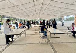Aplica Salud Coahuila dosis Covid a docentes faltantes