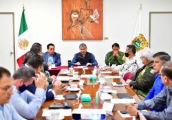 Preside MARS Mesa de Coordinación de protocolos del proceso electoral en Coahuila