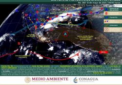 Mantiene Coahuila vigilancia meteorológica por lluvias y fuertes vientos