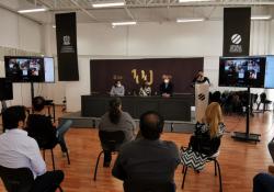 Entrega Cultura Coahuila constancias del diplomado en sonido y capacitación para cine